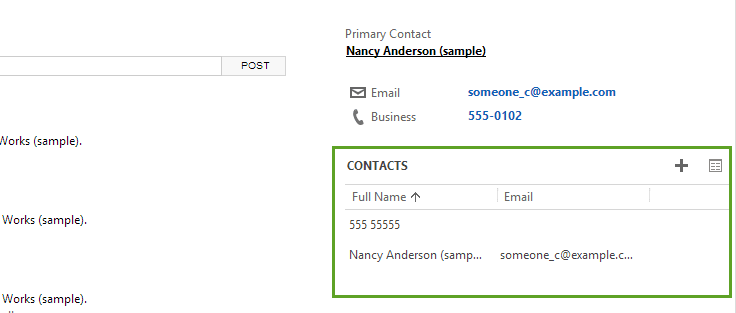 How to Manage Related Records in CRM 2013