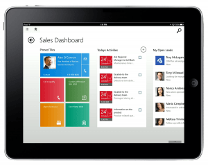 Getting Started with CRM for Tablets