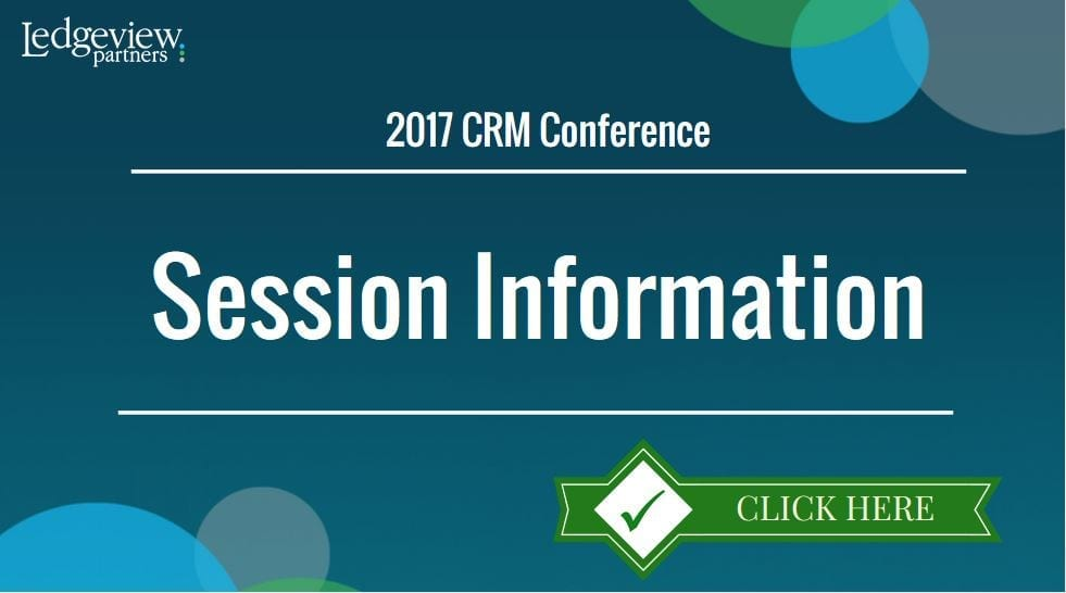 CRm Conference Sessions logo
