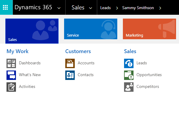 Follow Customer Actions Dynamics 365