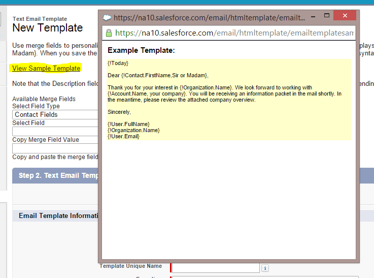 Save Time By Creating Email Templates In Salesforce Ledgeview Partners - Save email as template