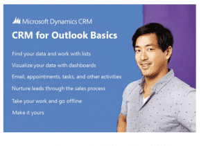 Get your CRM for Outlook Basics eBook from Microsoft Dynamics - Microsoft Dynamics CRM Community