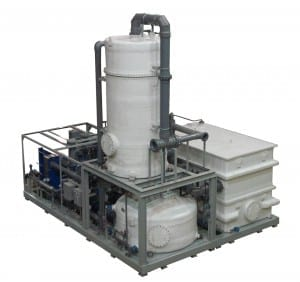 continuous bleach plant