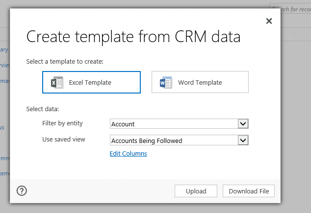 Creating Document Templates For Dynamics CRM Ledgeview Partners - Create document template