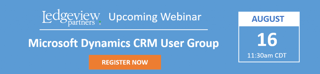 Crm User Group 15