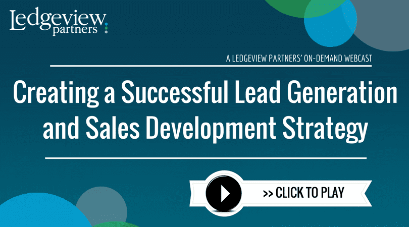 Creating a Successful Lead Generation and Sales Development Strategy Webinar