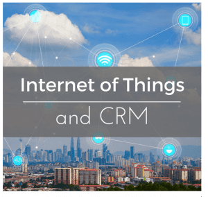 Internet of Things and CRM Border