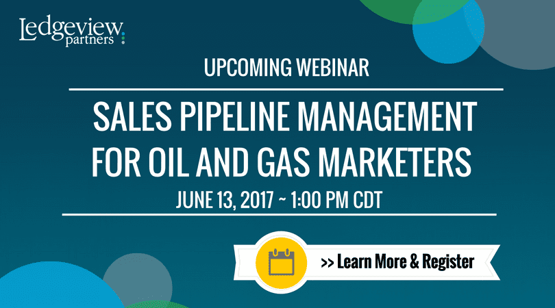 Sales Pipeline Management for Oil and Gas Marketers