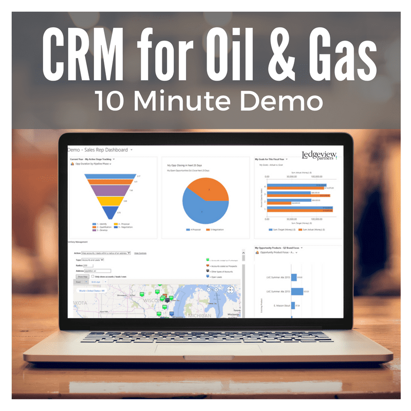 CRM for Oil and Gas 10 Min Demo