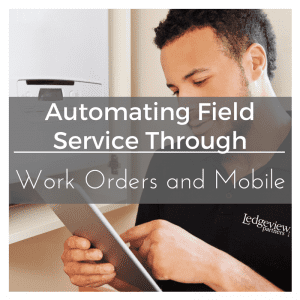 Automating Field Service Dynamics CRM