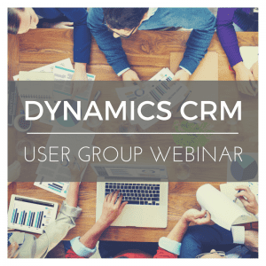 Microsoft Dynamics 365/CRM User