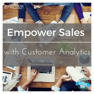 Empower Sales with Customer Analytics
