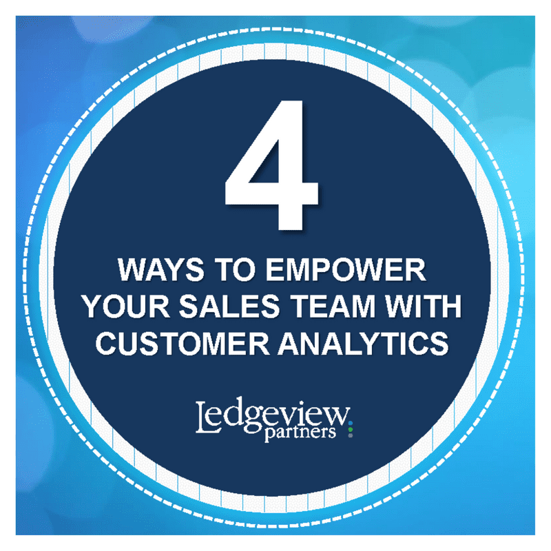 4 ways to empower sales team with customer analytics