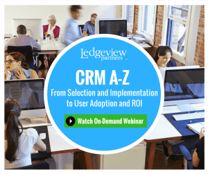 CRM A-Z From Selection and Implementation to User Adoption and ROI