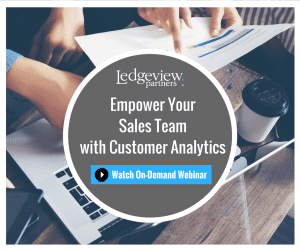 Empower Your Sales Team With Customer Anlaytics
