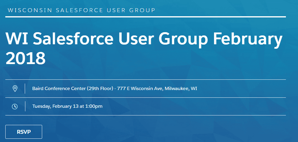 Wisconsin Salesforce User Group