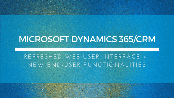 Refreshed Web Interface + New End-User Functionalities