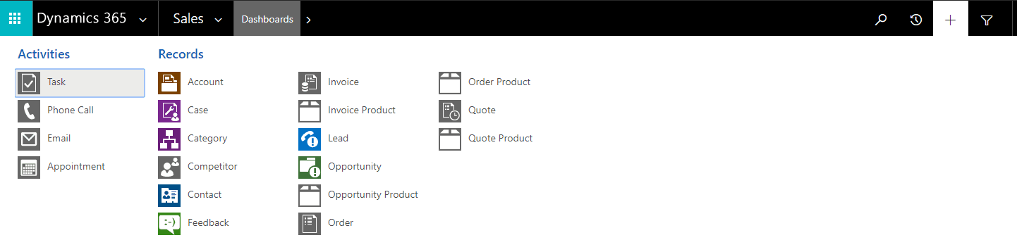 Managing Quick Create Forms in Dynamics 365/CRM