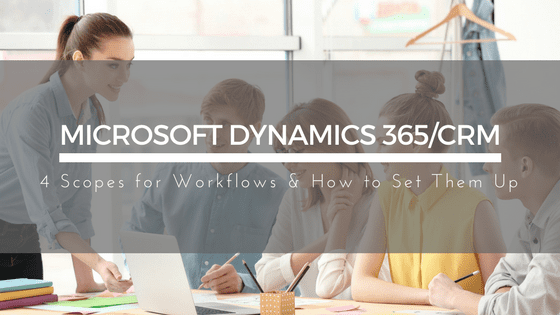 Scopes Microsoft Dynamics 365/CRM