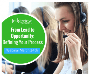 Webinar - From Lead to Opportunity - Ledgeview Partners