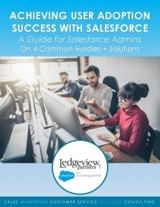 Ledgeview Partners Salesforce User Adoption