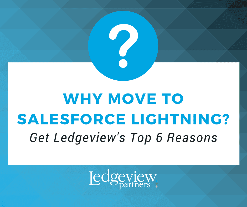 Ledgeview Partners Salesforce Tip Sheet