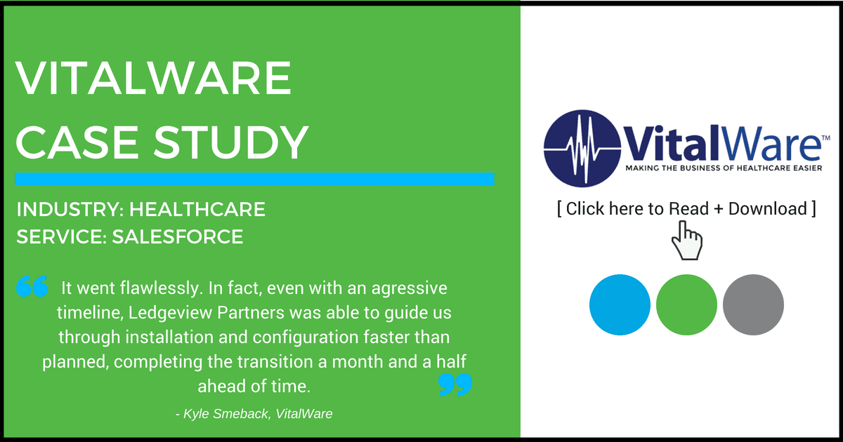 VitalWare Ledgeview Partners Case Study