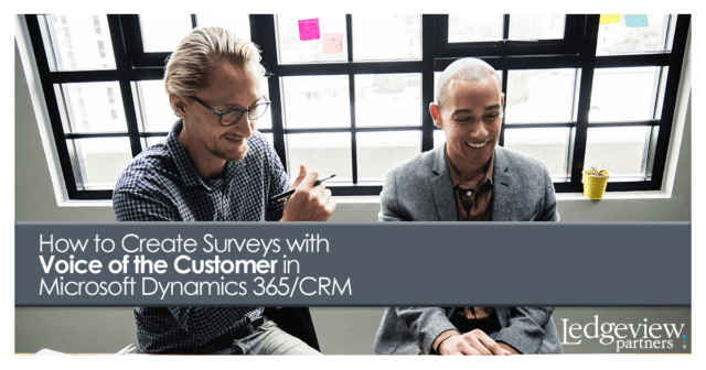 how to create surveys with voice of the customer in microsoft