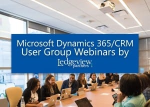Microsoft Dynamics 365/CRM User Groups