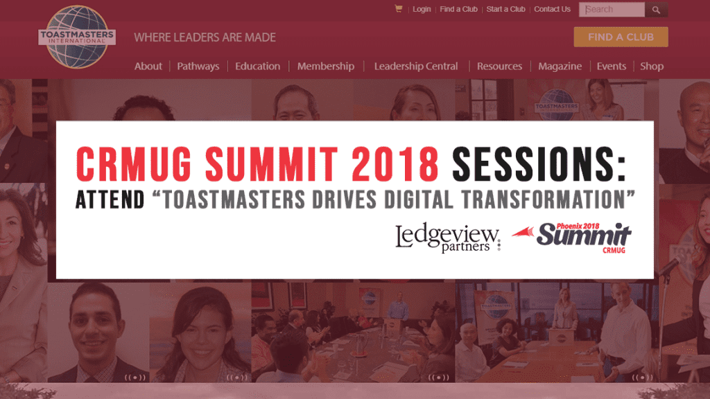 Toastmasters Drives Digital Transformation Presented by Ledgeview Partners